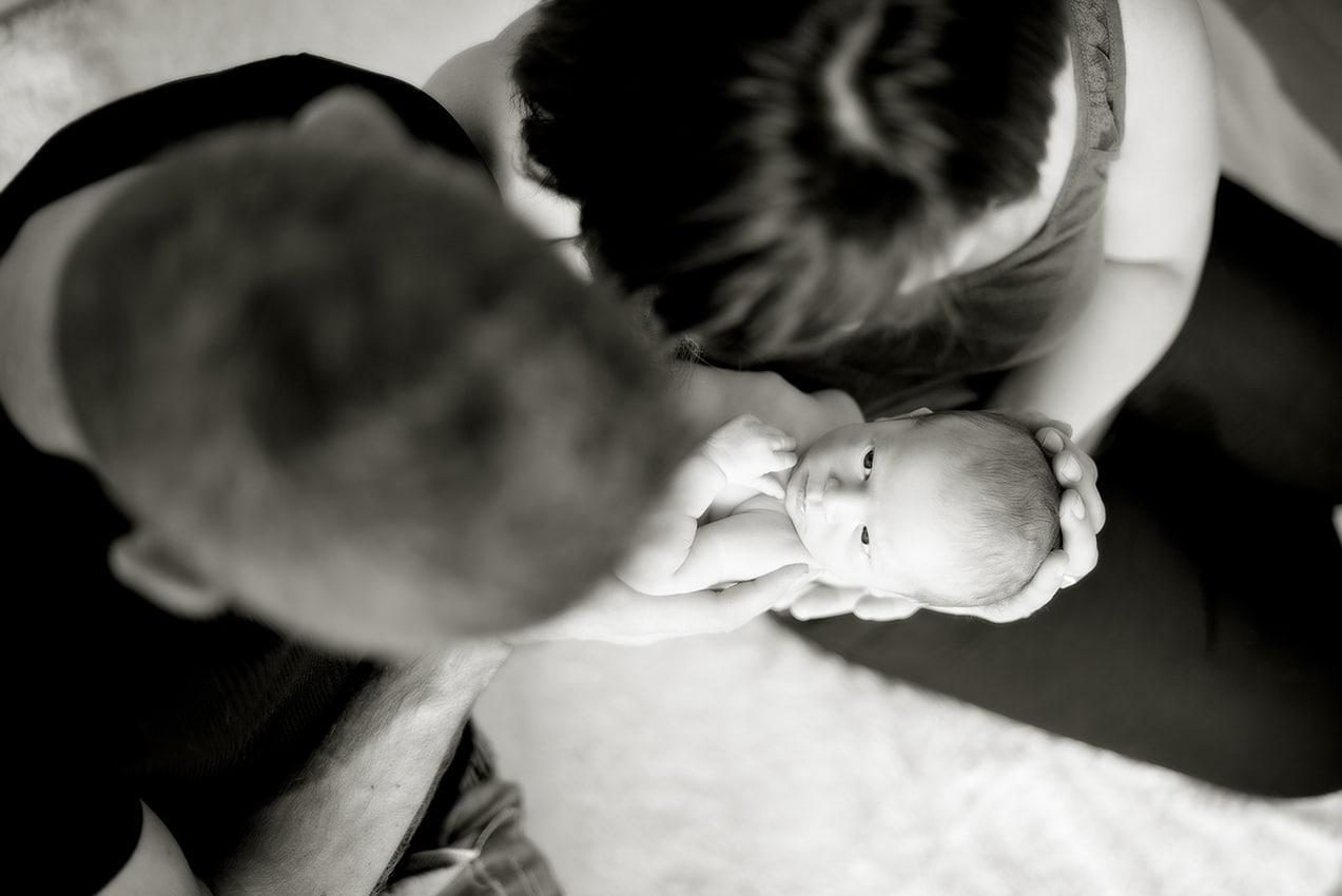 Photographe bébé Papa Maman Toulouse