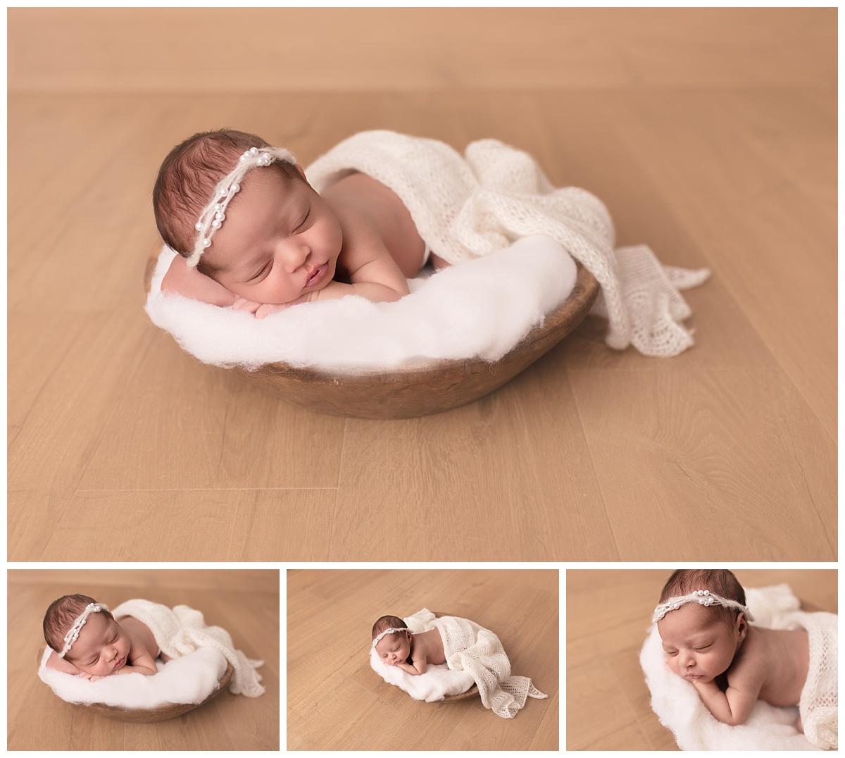 photo artistique du nouveau-né