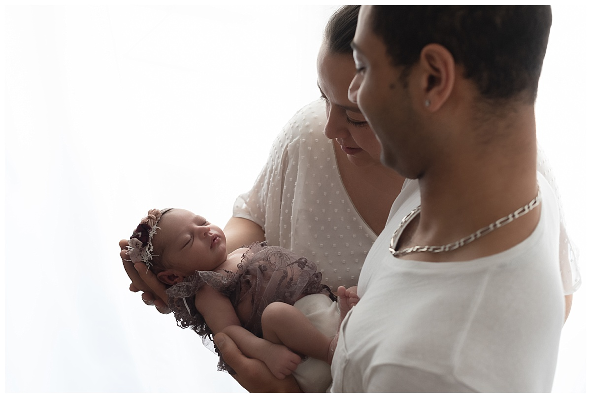 photo bébé avec parents