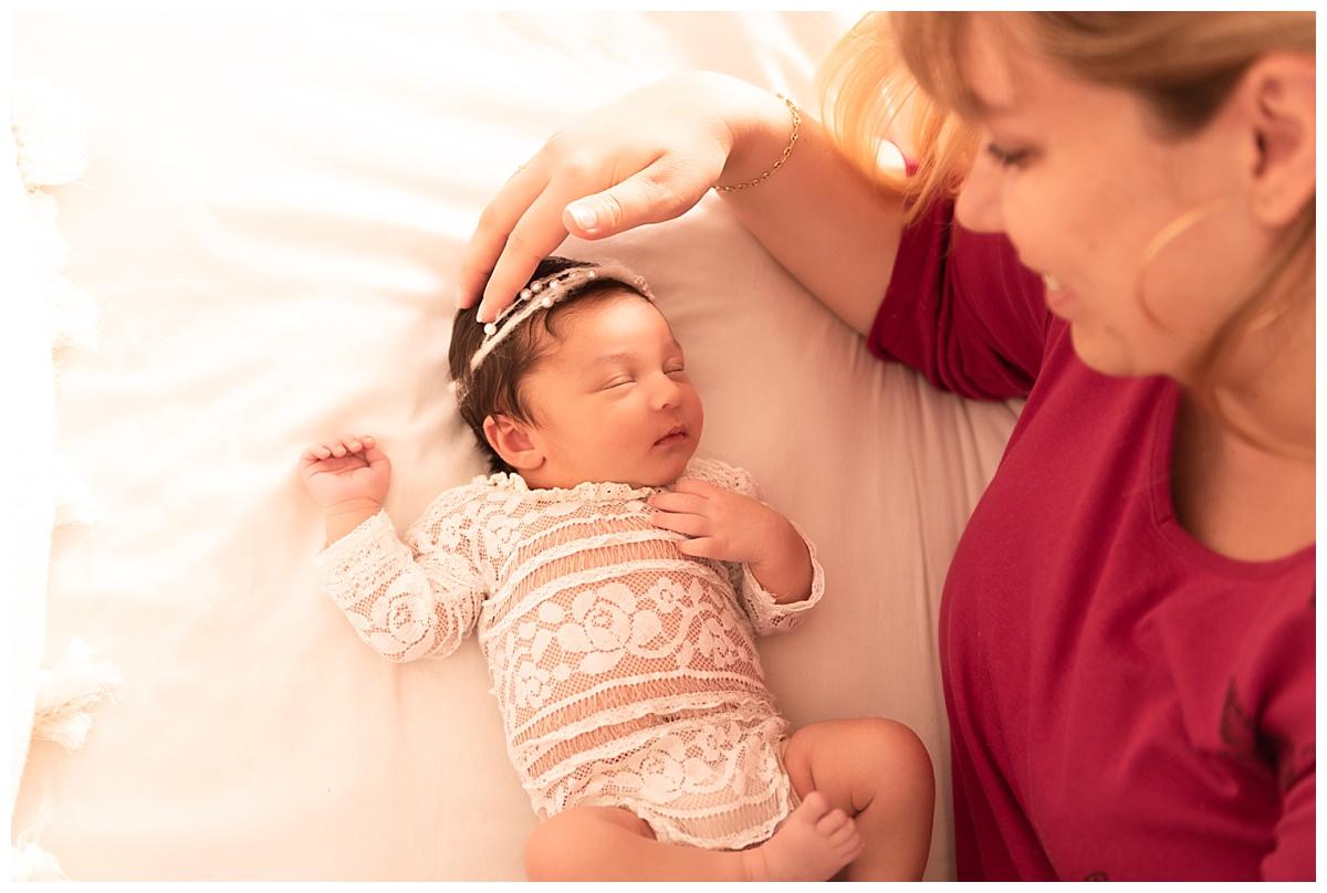 photo bébé maman