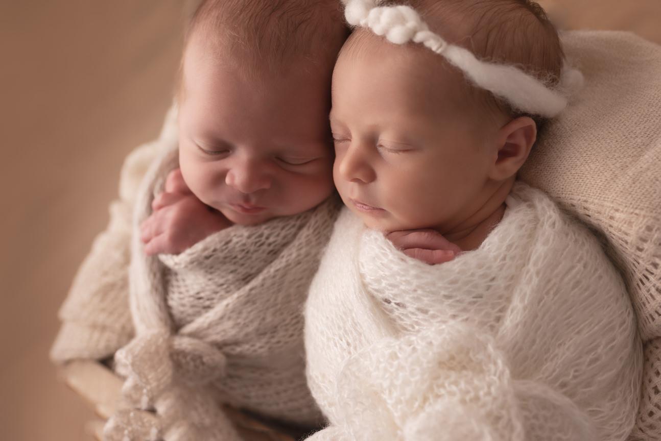 séance photo naissance jumeaux Toulouse
