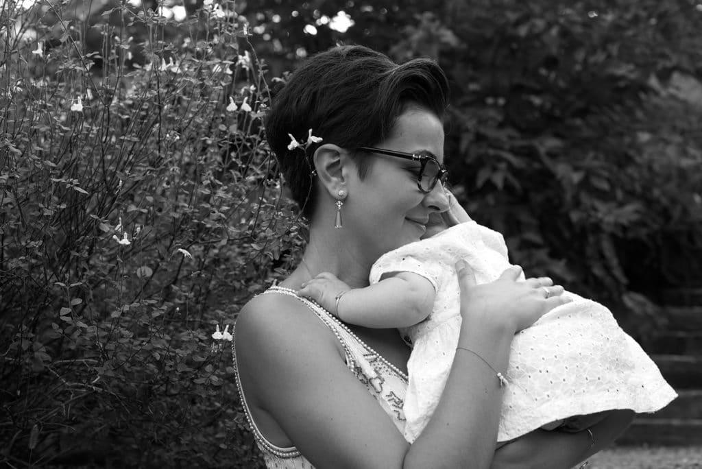 séance photo bohème mère fille